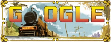 google doddle for indian railway