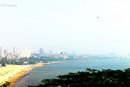 Mumbai Blushing On Its Horizon